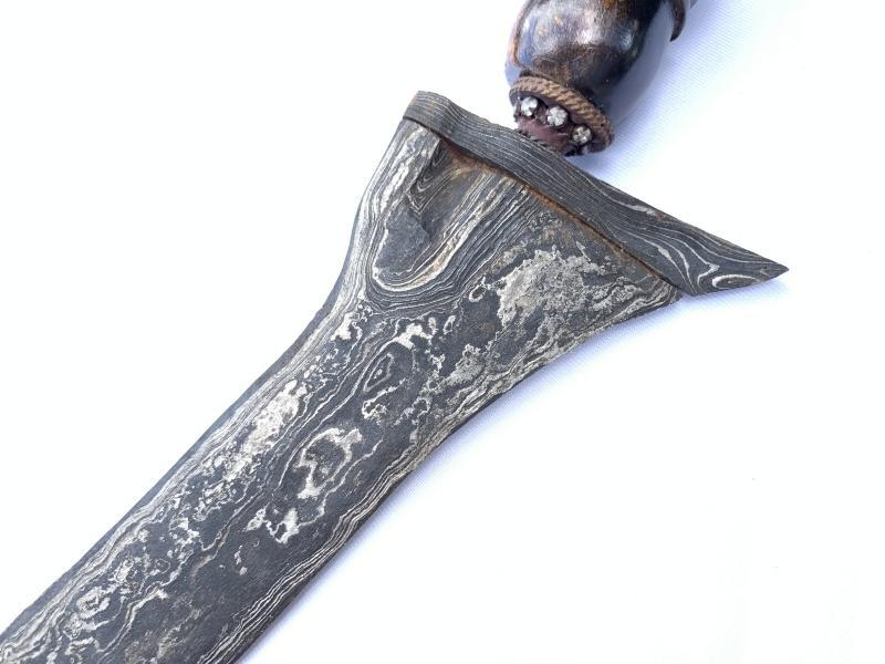 PALEMBANG KRIS 440mm UNUSUAL ANGLED BLADE  Weapon Knife Dagger Sword Kriss Arms
