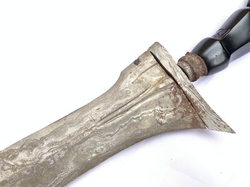 (3.3 lb MEGASIZE XXXL KERIS) Knife Weapon Sword Dagger Kris Kriss Tribal Asian