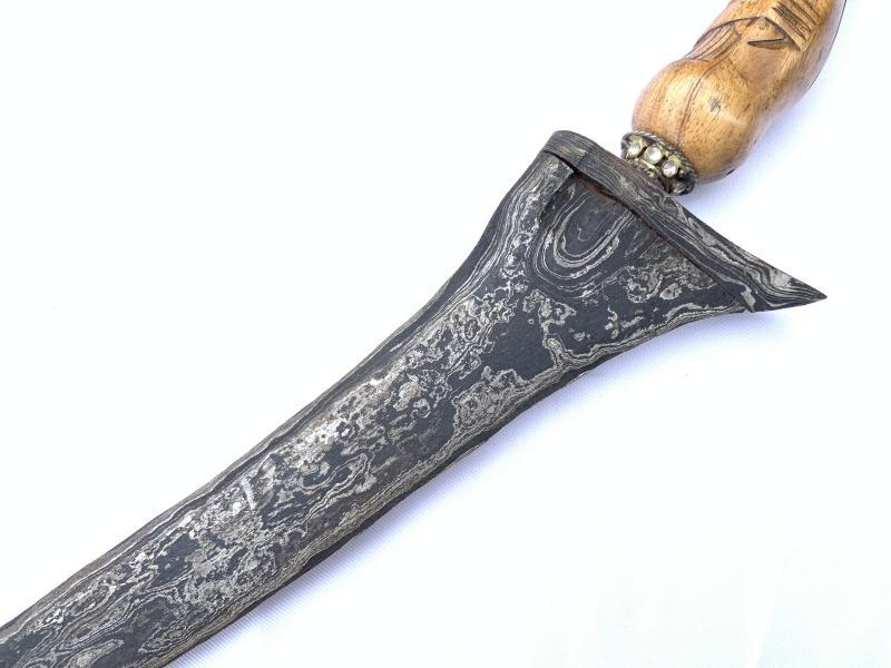 GORGEOUS KRIS 460mm PALEMBANG KERIS Weapon Knife Dagger Sword Kriss Arms Pamor