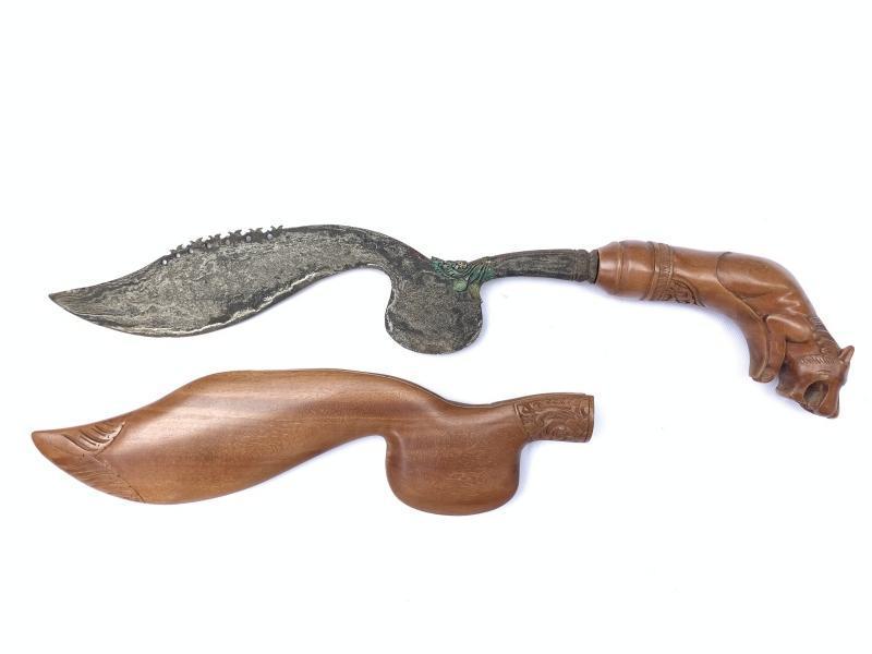 500mm KUJANG JAWA BARAT Knife Weapon Blade Dagger Sword Parang Keris Machete #2