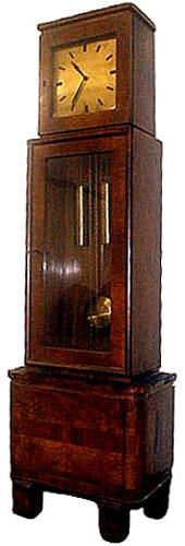 62.4654 Beautiful Art Deco Tall Case Clock