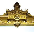 33.5083 American Renaissance Revival Gessoed Gilt Wood Mirror c. 1855