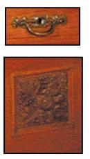 35.1258 Transitional Craftsman/Nouveau Hall Piece