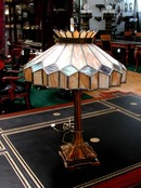 56.4456 Fantastic Stained Glass Table Lamp