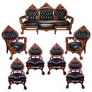 38.5942 Antique 7-Pc. American Renaissance Parlor Set by Herter Bros.