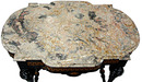 13.6097 Victorian Marble Top Table by Herter Brothers