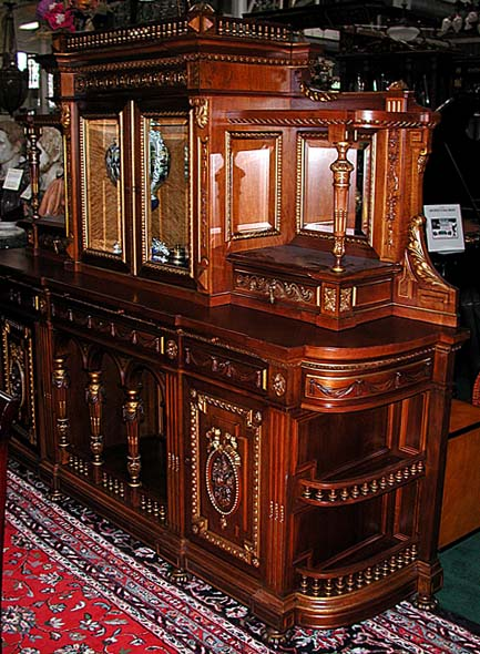 24.6108  American Victorian Sideboard by Herter Brothers