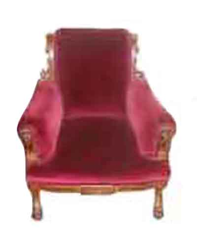 31.5266A 19th C. American Victorian Walnut Parlour Chair