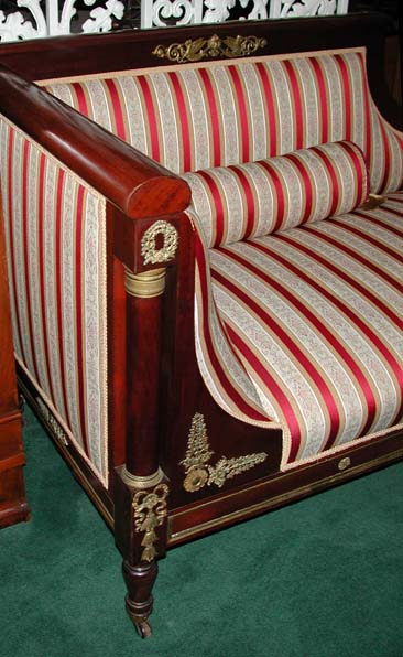 77.6364 Mid-19th C. French Empire Recamier