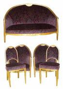 33.6442 French Art Deco Parlour Set