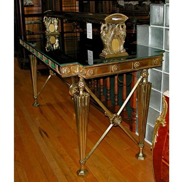 08.5625 Original American Turn-of-the-Century Gorham Bank Table