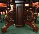 42.5424  13-Pc. Walnut Renaissance Revival Dining Set c. 1880