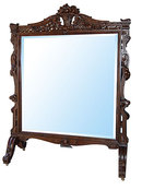 54.6698 Standing French Chevelle Mirror c. 1880