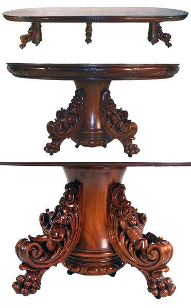 42.6729 Renaissance Revival Dining Set by R.J. Horner