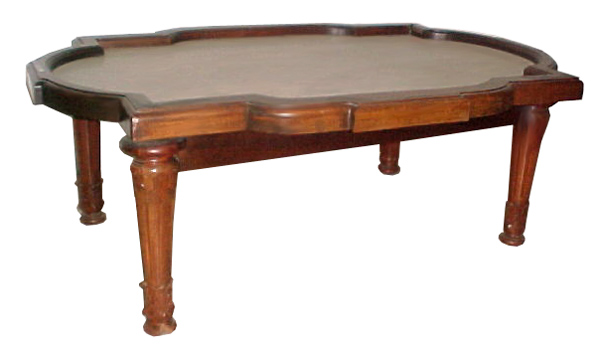 12.5275 19th C. Victorian Coffee Table with Marble Top