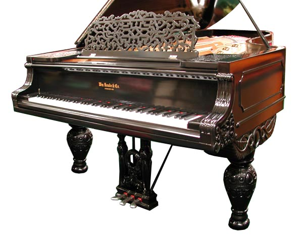 william knabe piano serial number