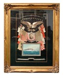 77.4549 Set of American Framed Silk Embroideries c. 1905