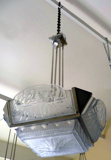 6824 Art Deco Muller Chandelier