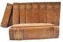 6837 Rare Leather Bound Books