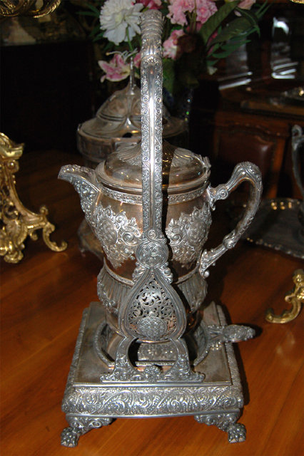 1782 Silver Plate Lemonade Pitcher