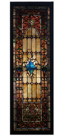 6955 Leaded Stained Glass Window