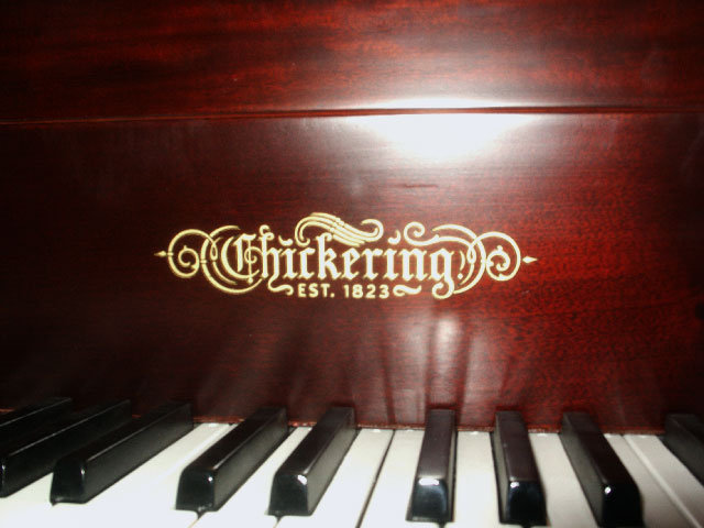 2412 Chickering Antique Parlor Grand Piano