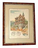 78.4670 19th C. German Victorian Architectural Prints