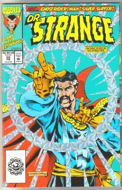 Dr. Strange #50 comic book near mint 9.4