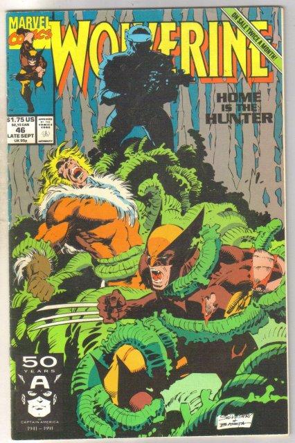 Wolverine #46 comic book near mint 9.4