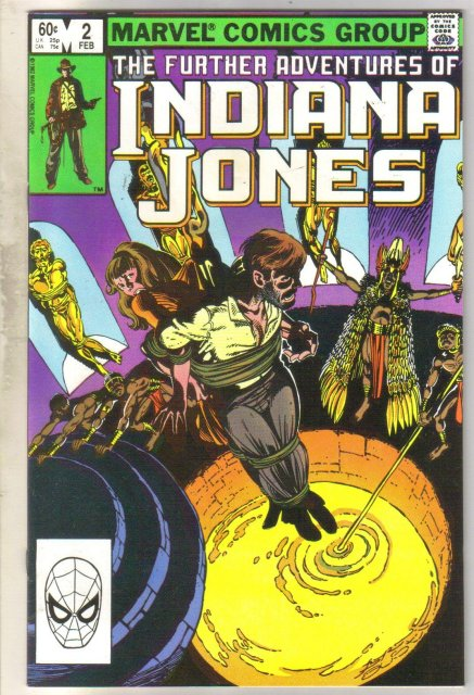 Further Adventures of Indiana Jones #2 comic book near mint 9.4