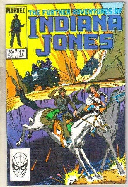 Further Adventures of Indiana Jones #17 comic book near mint 9.4