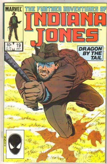 Further Adventures of Indiana Jones #19 comic book near mint 9.4