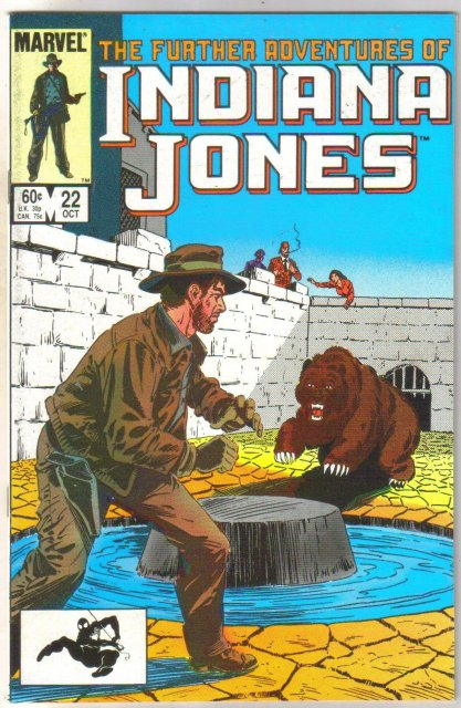 Further Adventures of Indiana Jones #22 comic book near mint 9.4