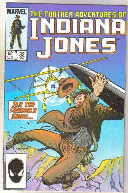 Further Adventures of Indiana Jones #32 comic book near mint 9.4