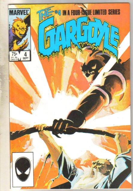 The Gargoyle #4 comic book near mint 9.4