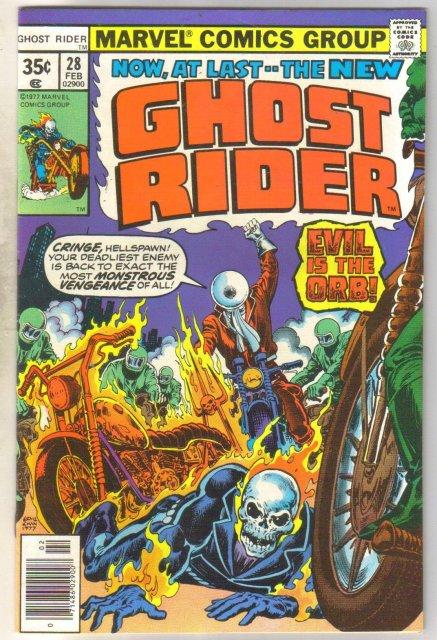 Ghost Rider #28 comic book near mint 9.4