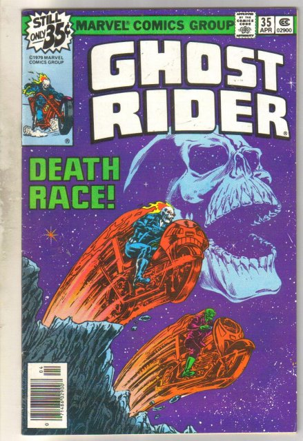 Ghost Rider #35 comic book very fine/near mint 9.0