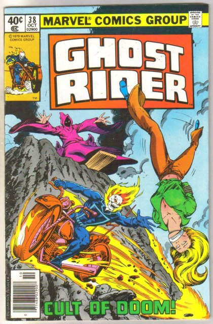 Ghost Rider #38 comic book near mint 9.4