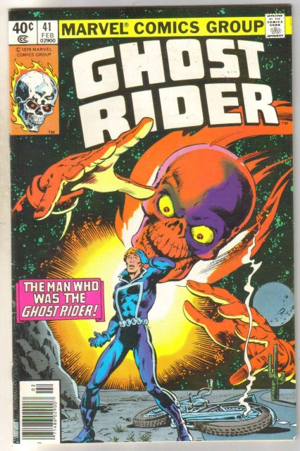 Ghost Rider #41 comic book near mint 9.4
