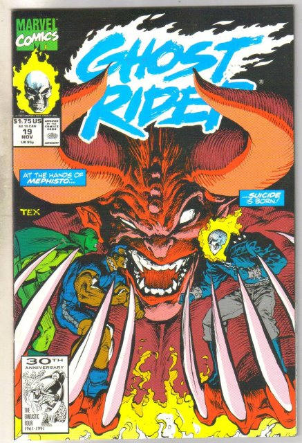Ghost Rider #19 comic book mint 9.8