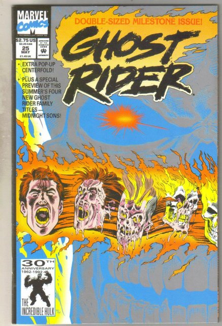 Ghost Rider #25 comic book mint 9.8