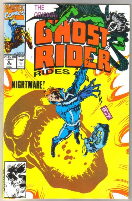 Ghost Rider Rides Again #6 comic book mint 9.8