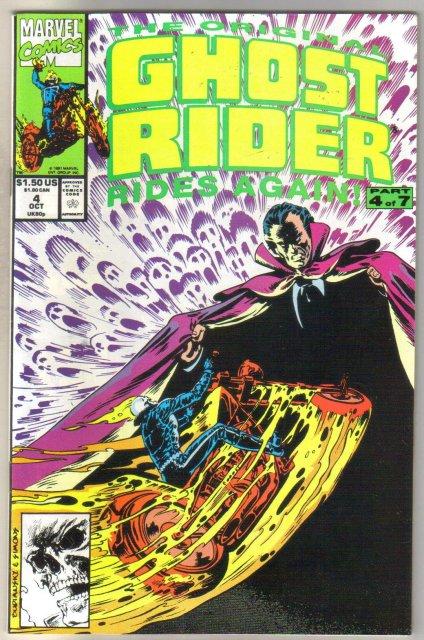 Ghost Rider Rides Again #4 comic book mint 9.8