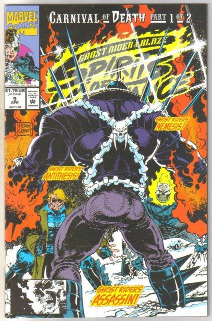 Ghost Rider Spirits of Vengeance #9 comic book mint 9.8
