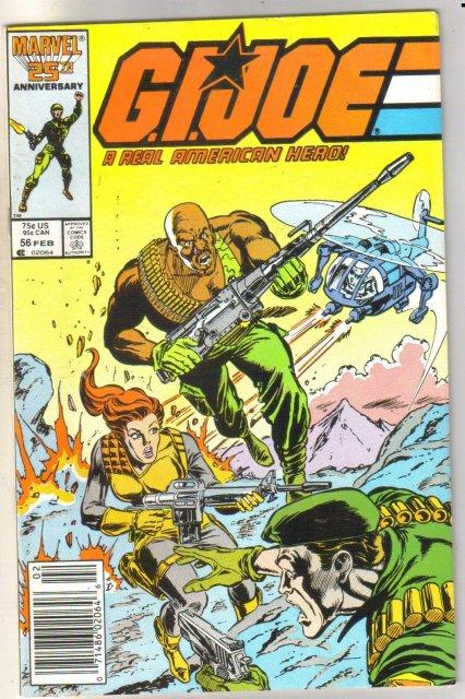 G.I.Joe #56 comic book near mint 9.4