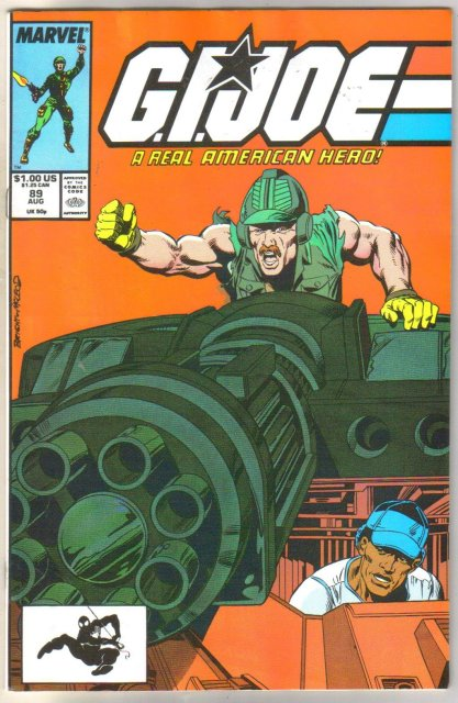 G.I.Joe #89 comic book near mint 9.4