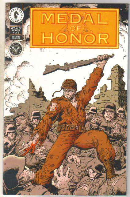 Medal of Honor #2 comic book near mint 9.4