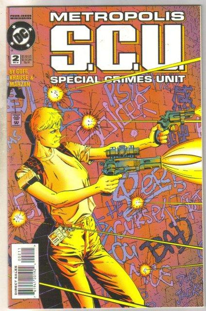 Metropolis S.C.U. #2 comic book near mint 9.4
