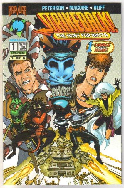 Strikeback! #1 comic book near mint 9.4