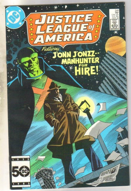 Justice League of America #248 comic book near mint 9.4